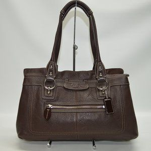 Coach Penelope Leather Carryall F14686 Tote Bag